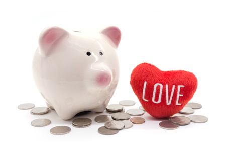 Love and money? It's not about control